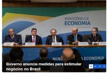 Governo anuncia medidas para estimular negócios no Brasil