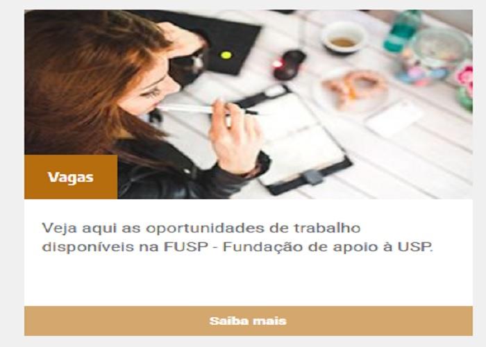 FUSP: oportunidades de trabalho com empreendedorismo