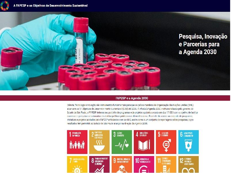FAPESP: Pesquisa, Inovação e Parcerias para a Agenda 2030