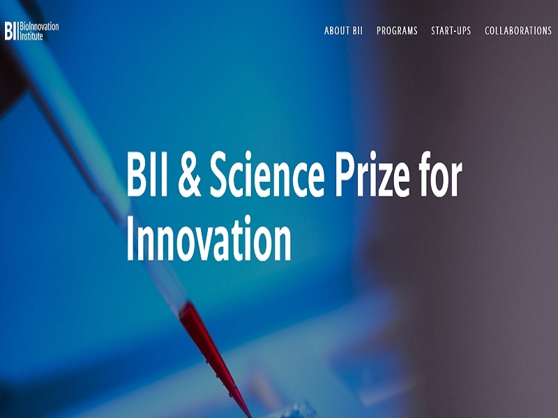 BII & Science Prize for Innovation