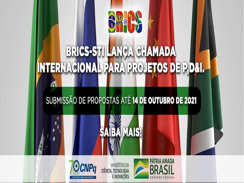 Brics STI lança chamada internacional para projetos de P,D&I