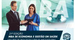 MBA de Economia e Gestão em Saúde – Inscrições abertas