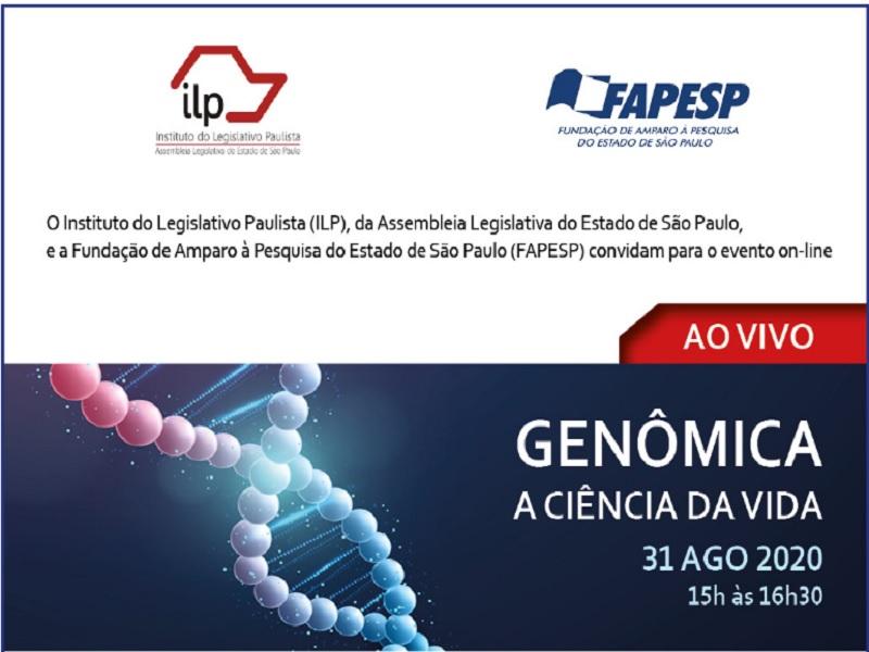 Ciclo ILP-FAPESP – Genômica: a ciência da vida