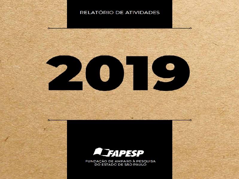 Relatório de Atividades – FAPESP – 2019