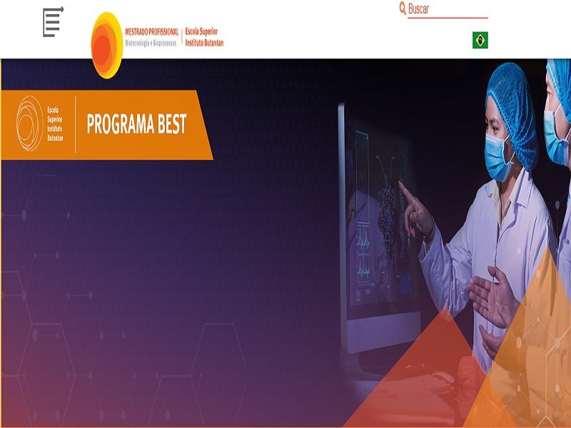 Edital de seleção para Bolsa do Programa Butantan-Empresa de superação tecnológica (BEST)