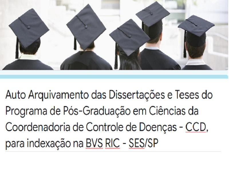 BVS Rede de Informação e Conhecimento e Programa de Pós-Graduação da Secretaria de Estado da Saúde de São Paulo implementam sistema de auto arquivamento de sua produção científica