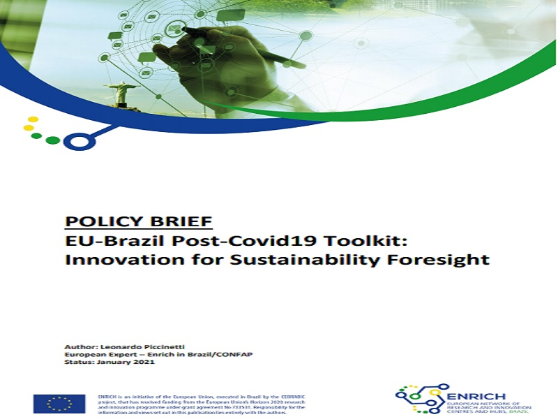 Policy Brief EU-Brazil Post-Covid19 Toolkit: Innovation for Sustainability Foresight