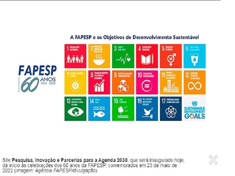 FAPESP indexa programas e projetos aos Objetivos de Desenvolvimento Sustentável da ONU