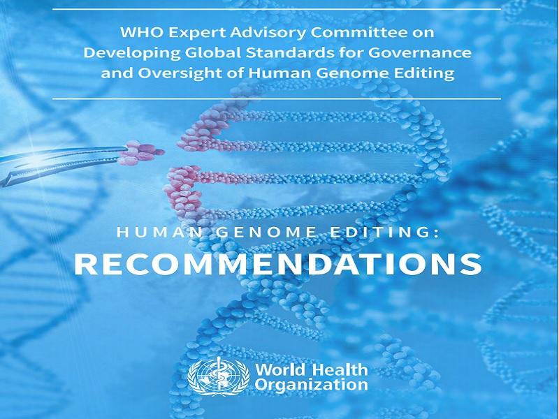 OMS emite novas recomendações sobre edição do genoma humano para avanço da saúde pública