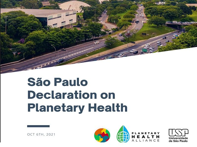 Declaração de São Paulo sobre Saúde Planetária é lançada com Fiocruz entre signatários